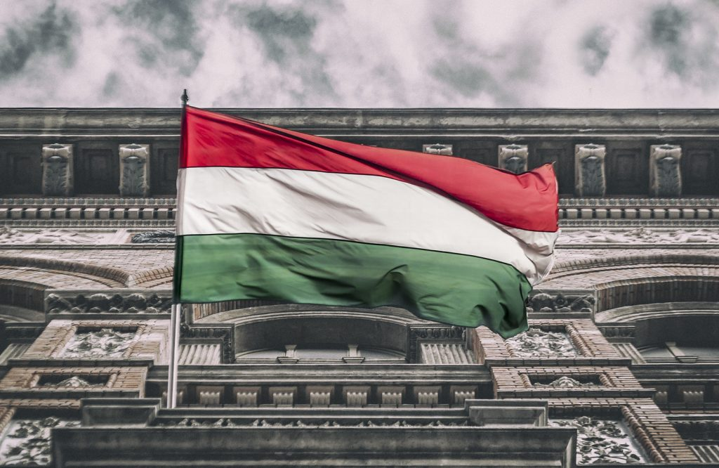 Photo of Hungarian flag
