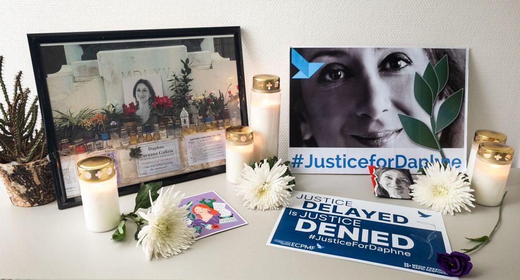 Virtual vigil for Daphne Caruana Galizia
