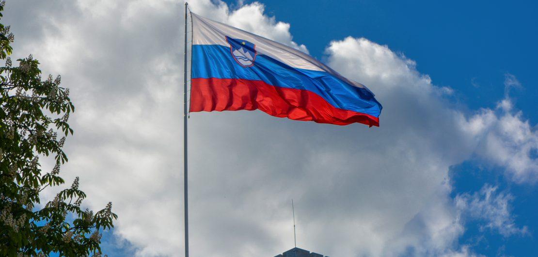 Slovenia Flag - credit: Balkan Photos