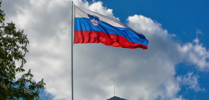 Slovenia Flag - credit: Balkan Photos