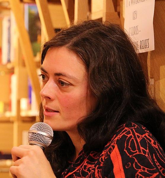 Inès Leraud, librairie Les Bien-aimés, décembre 2019, Nantes