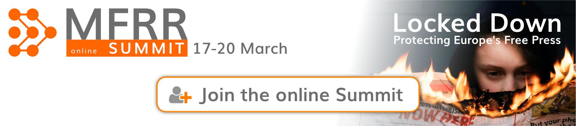 MFRR online Summit - register now