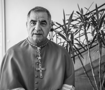 Photo of Cardinal Angelo Becciu