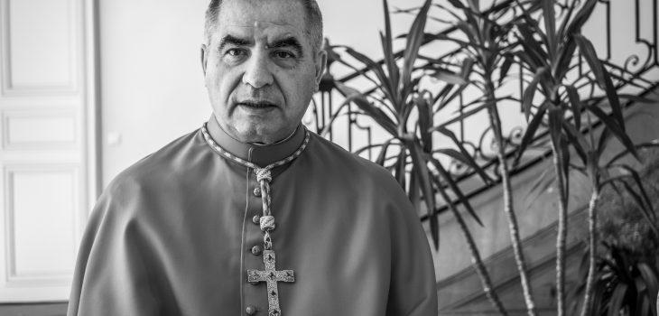 Photo of Cardinal Angelo Becciu