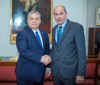 Photo of Orban and Jansa
