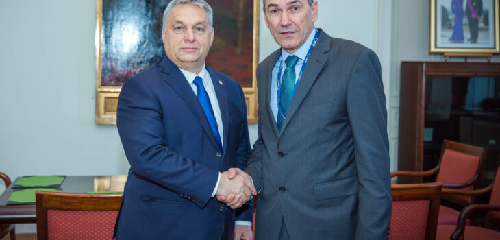 Photo of Orban and Jansa