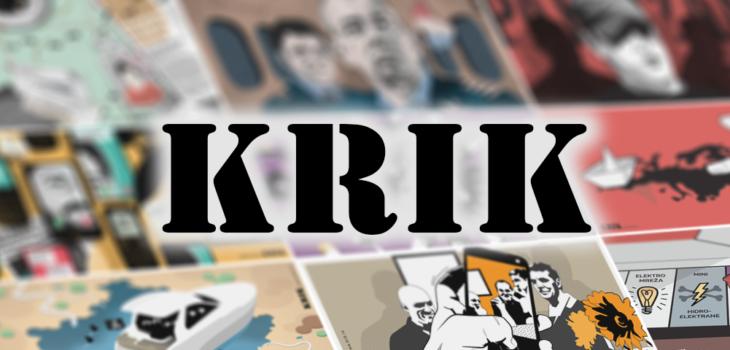 Logo for KRIK